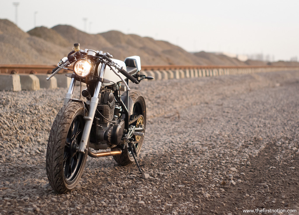 The Yamaha SR250 by The First Notion
